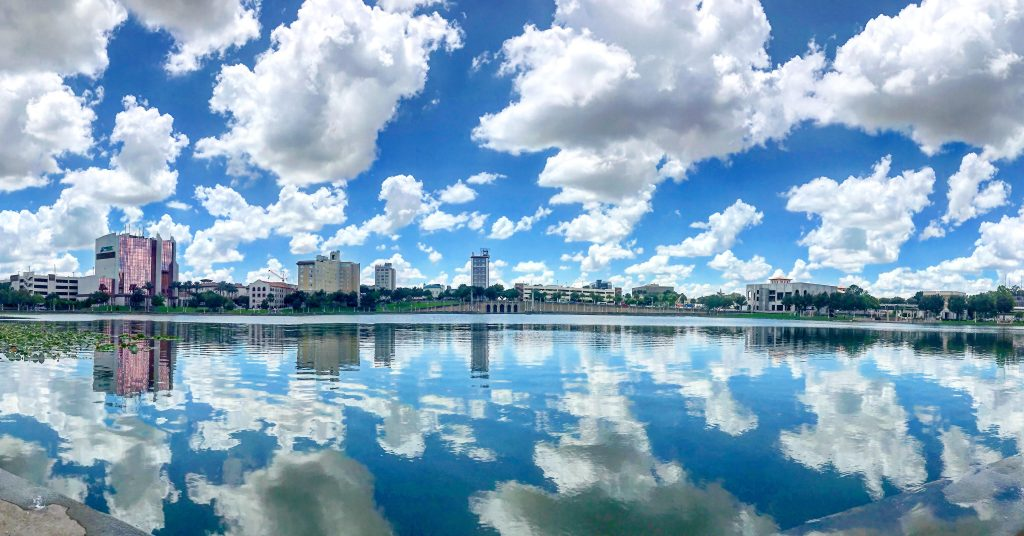 Lake Mirror - Lakeland, Florida