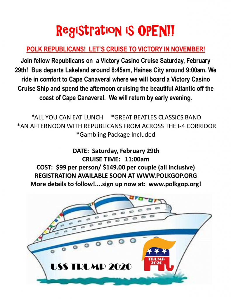 Polk Republicans Cruise